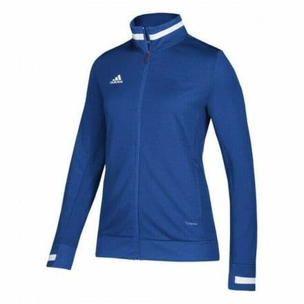 Adidas Team Wear Track Jacket Womens T19 Sports Royal Blue - DY8817