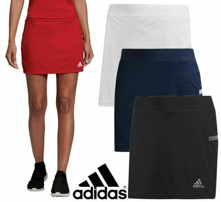 Adidas Team Wear Womens T19 Sports Shorts & Skirt - Gym Training