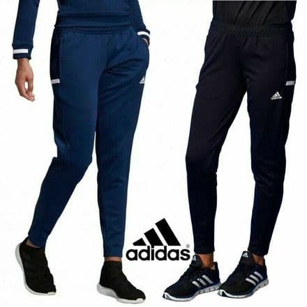 Adidas Team Wear Womens T19 Sports Tracksuit Pants Joggers - Gym Training