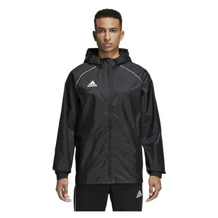Adidas Teamwear Rain Jacket Core 18 Black - CE9048
