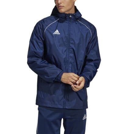 Adidas Teamwear Rain Jacket Core 18 Navy - CV3694
