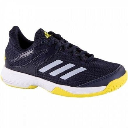 Adidas Tennis adiZero Club Juniors Black/Yellow Shoes - Trainers - BB7942