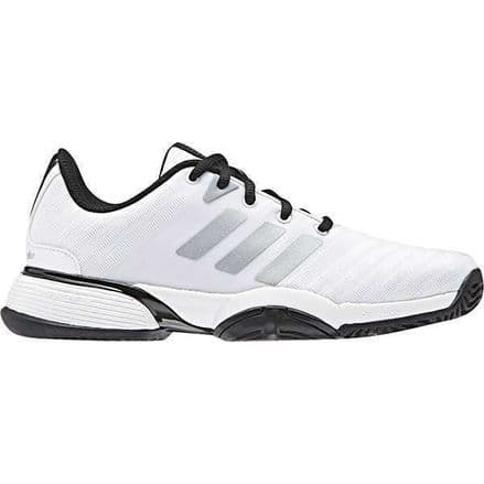 Adidas Tennis Barricade 2018 Junior White Shoes Trainers - BB7938