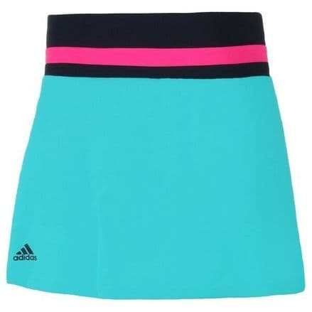 Adidas Tennis Girls Club Skirt Turquoise - DH2808