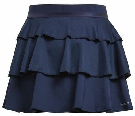 Adidas Tennis Girls Frill Skirt Navy - DU2474