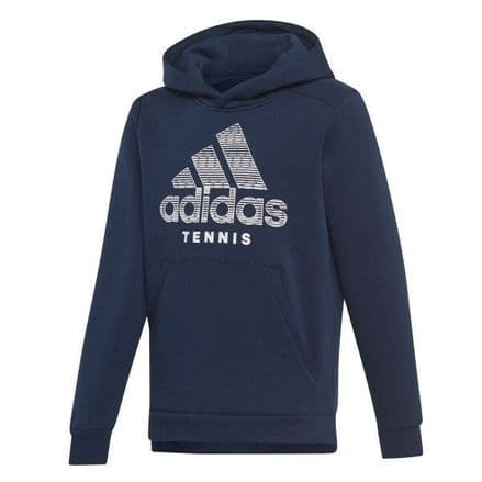 Adidas Tennis Kids Club Hoody Navy - DU6674