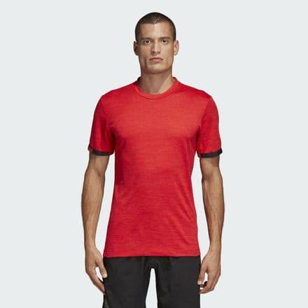 Adidas Tennis MatchCode T Shirt Red - DT4408