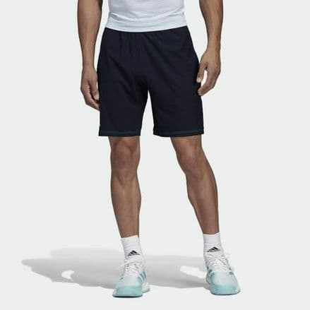 "Adidas Tennis Mens Parley Shorts 9"" Navy - DT4196"