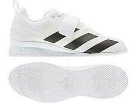 Adidas Weightlifting adipower II White Shoes