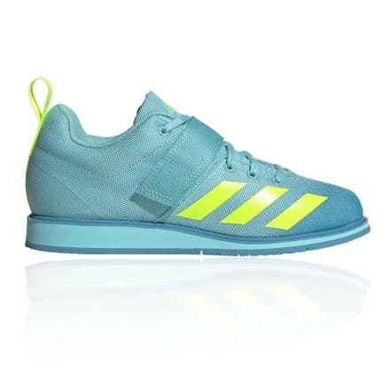 Adidas Weightlifting Ladies Shoes Power Perfect 4 - Sky Yellow
