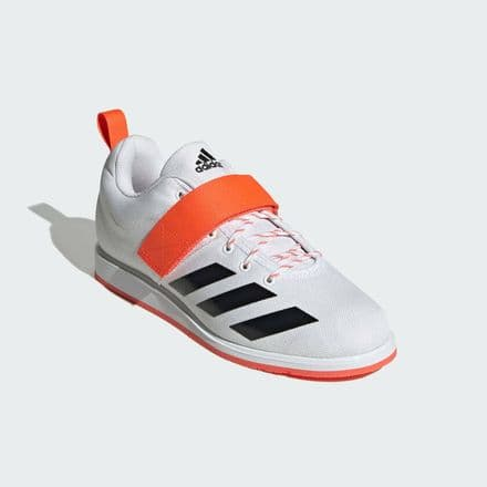 Adidas Weightlifting Shoes Power Perfect 4 - White Black Red