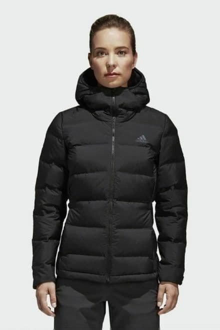 Adidas Womens Jacket - Helionic Lightweight Coat - BQ1935
