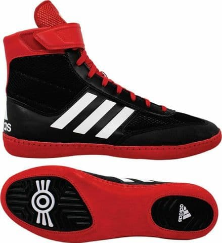 Adidas Wrestling Boots Combat Speed 5 Black Red