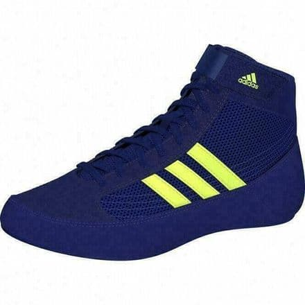 Adidas Wrestling Kids Boxing Boots Childs Havoc Shoes Mystery Blue BD7637