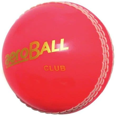 AeroBall Incrediball Hi Vis Cricket Ball - Junior