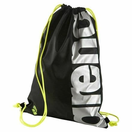 Arena Fast Swimbag Black Silver Yellow- Swimming Bag Special Offer RRP £9.99