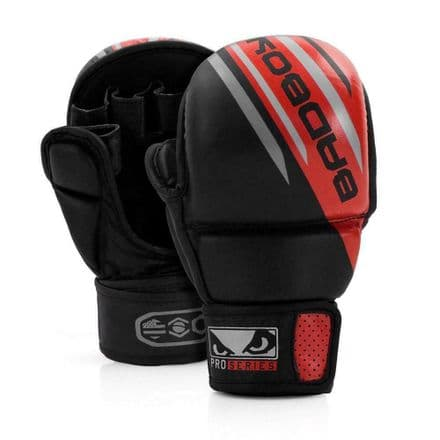 BAD BOY PRO SERIES  ADVANCED MMA RED SPARRING SAFETY GLOVES