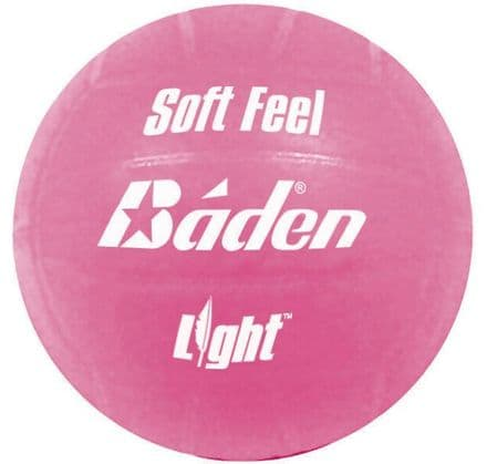 Baden Pink Soft Feel Volleyball