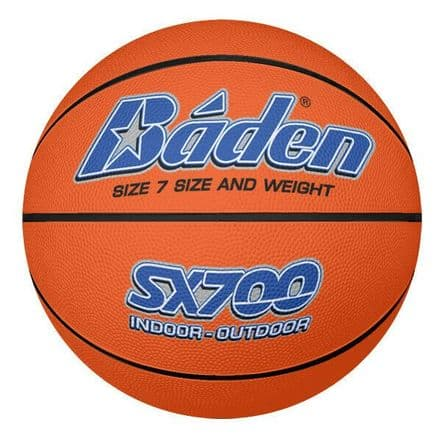 Baden SX Indoor/Outdoor Basketball - Tan - Sizes 3, 5, 6, 7