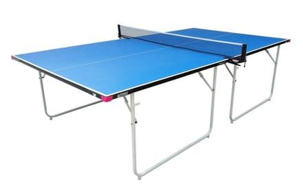 Butterfly Compact Indoor 16 Wheelaway Table Tennis Table - Blue
