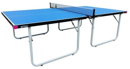 Butterfly Compact Indoor 19 Wheelaway Table Tennis Table - Blue