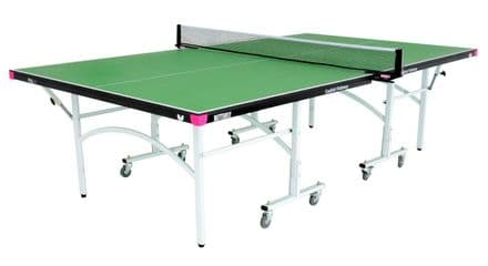 Butterfly Easifold Indoor Table Tennis Table - Green - including bats,balls&net