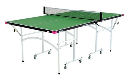 Butterfly Junior Rollaway Table Tennis Table - including bats,balls and net&post