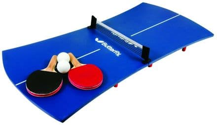 Butterfly Mini Table Tennis Table - Slimline - Blue
