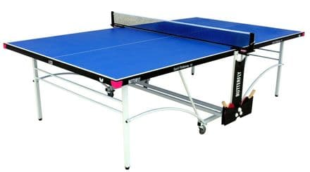 Butterfly Spirit Indoor 16 Table Tennis Table - Blue - including bats,balls&net