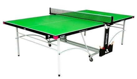 Butterfly Spirit Indoor 16 Table Tennis Table - Green - including bats,balls&net