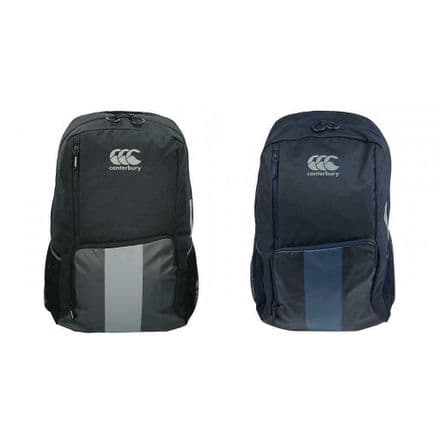 Canterbury Rugby Vaposhield Backpack Medium - Black and Navy