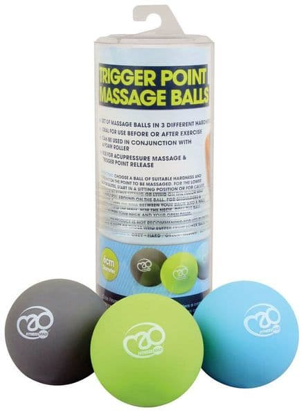 Fitness-Mad Trigger Point Massage Ball Set GYM FITNESS Training Sparring