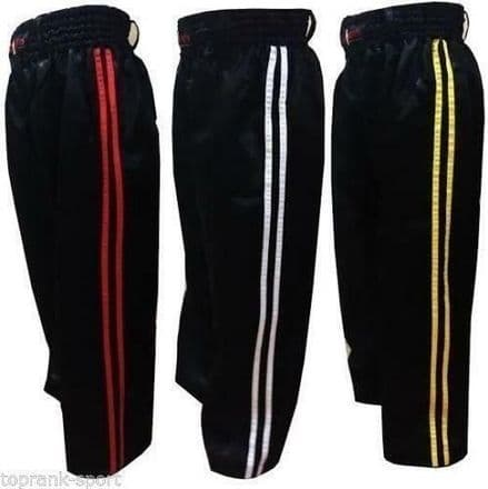 KO Kids Polycotton Kickboxing Full Contact Trousers - Pants