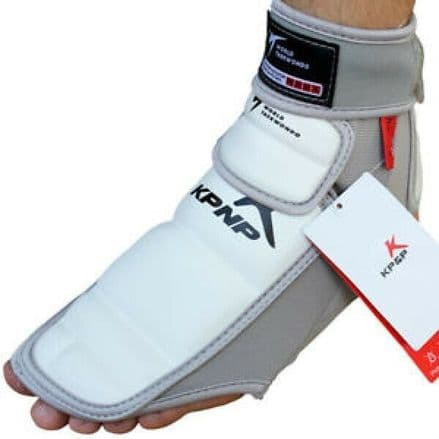 KP&P Electronic Foot Socks - Adult - Grey/White