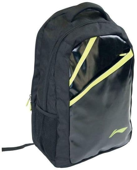 Li-Ning Pro Badminton Backpack Black/Green