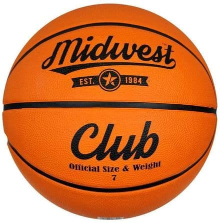 Midwest Club Basketball Tan Size 5, 6, 7