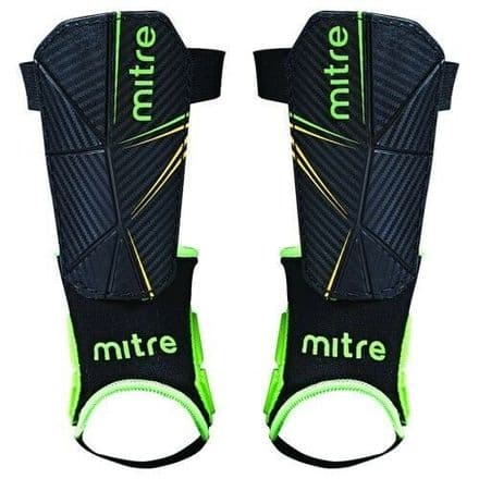 Mitre Delta Football Shinpads  + Ankle Support