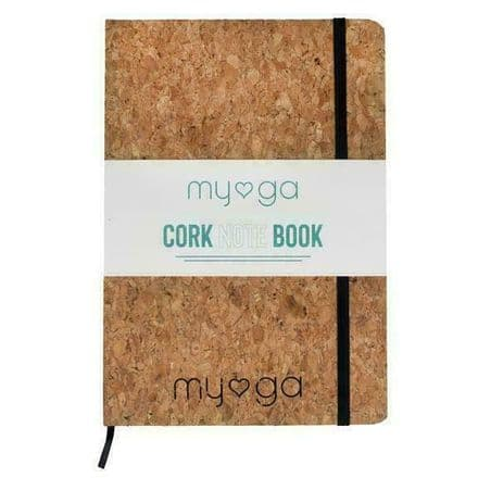 Myga Notebook Journal Lined with Cork Cover