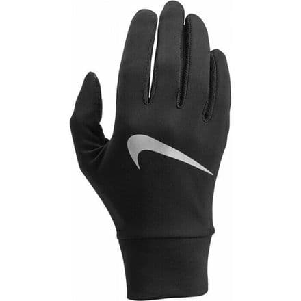 Nike Gloves Womens Lightweight Tech Training Running - Black