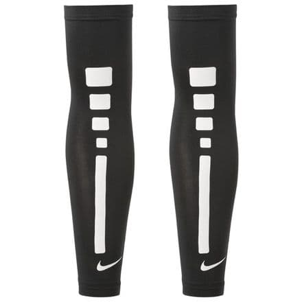 Nike Pro Elite 2.0 Sleeves - Black Running Training Cycling