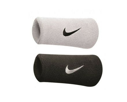 Nike Sweat Wristbands Swoosh Jumbo Fitness Sweatbands