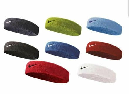 Nike Swoosh Headband Gym Tennis Training Sports Sweatband