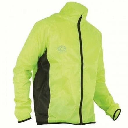 "OPTIMUM ""HAWKLEY"" RUNNING RAINJACKET FLUO"
