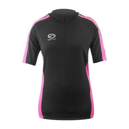 "OPTIMUM ""NITEBRITE"" LADY RUNNING JERSEY PINK"