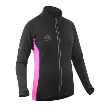 "OPTIMUM ""NITEBRITE"" LADY RUNNING ROUBAIX JACKET PINK"