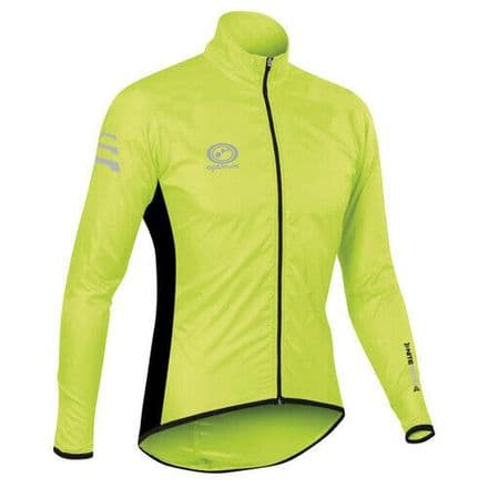 "OPTIMUM ""NITEBRITE"" RUNNING RAIN JACKET FLUO"