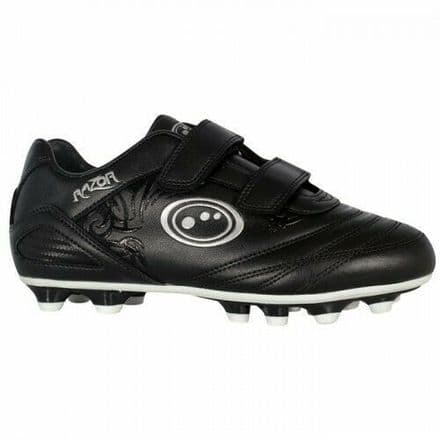 OPTIMUM RAZOR FOOTBALL BOOTS PU MOULDED BLACK