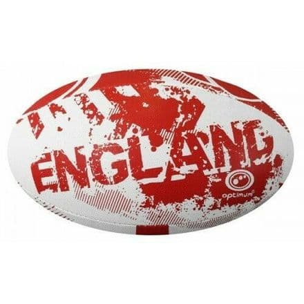"OPTIMUM RUGBY BALL ""ENGLAND"" - SIZE 5"