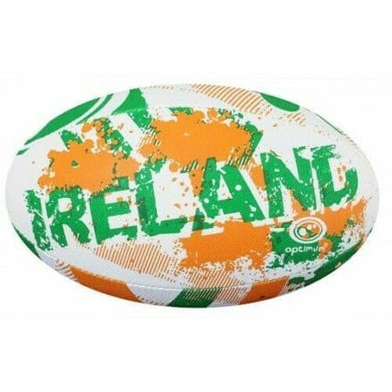 "OPTIMUM RUGBY BALL ""IRELAND"" - SIZE 5"