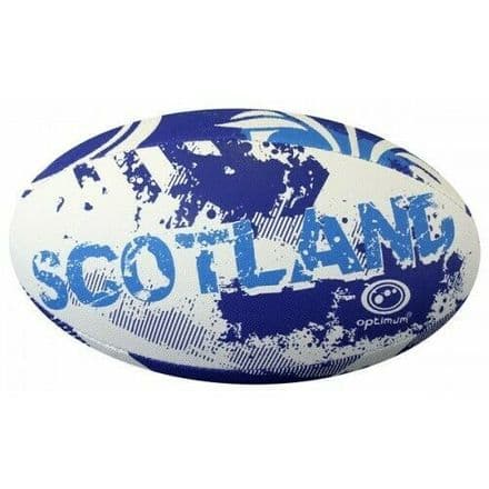 "OPTIMUM RUGBY BALL ""SCOTLAND"" - SIZE 5"
